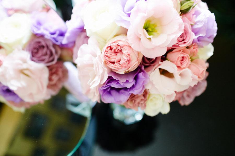 Jasne kolorowe kwiaty