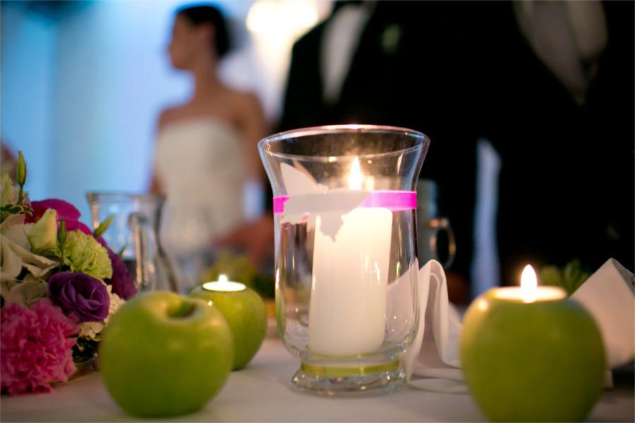 Świeczki na wesele