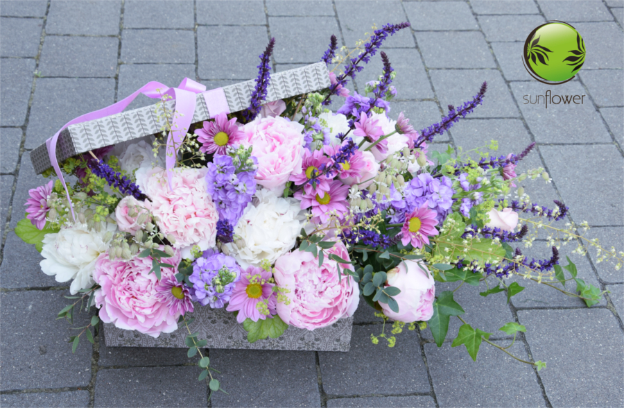 pastelove8 - bukiet slubny, kosz kwiatowy, pudelko kwiatowe, kwiaty dla rodzicow (5)
