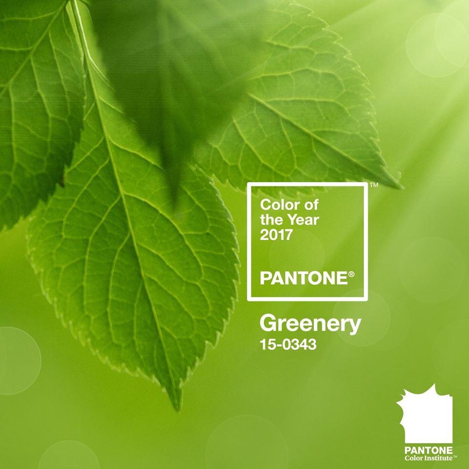 Kolor roku Pantone greenery