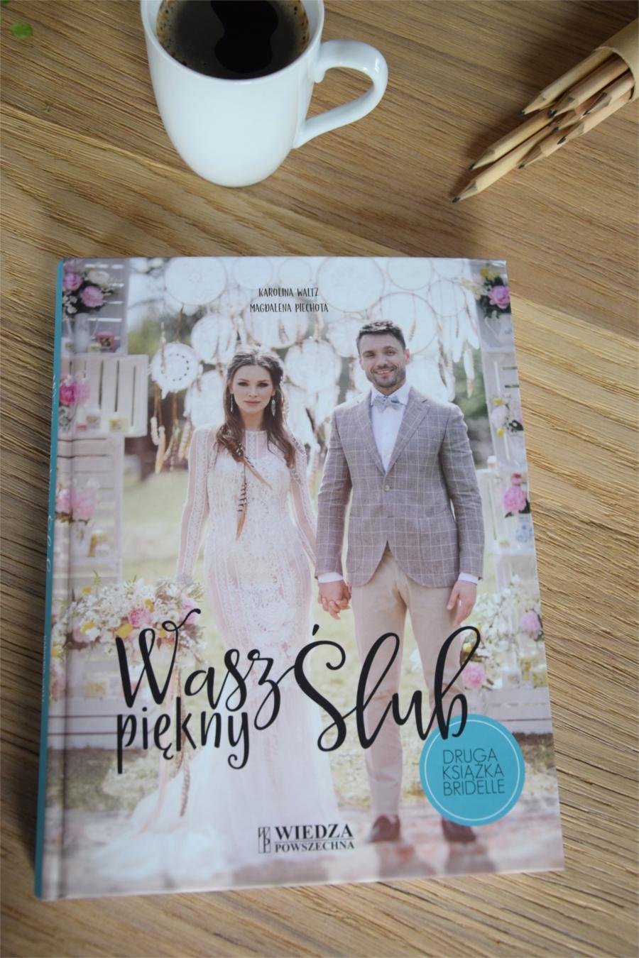 Okładka książki o ślubie