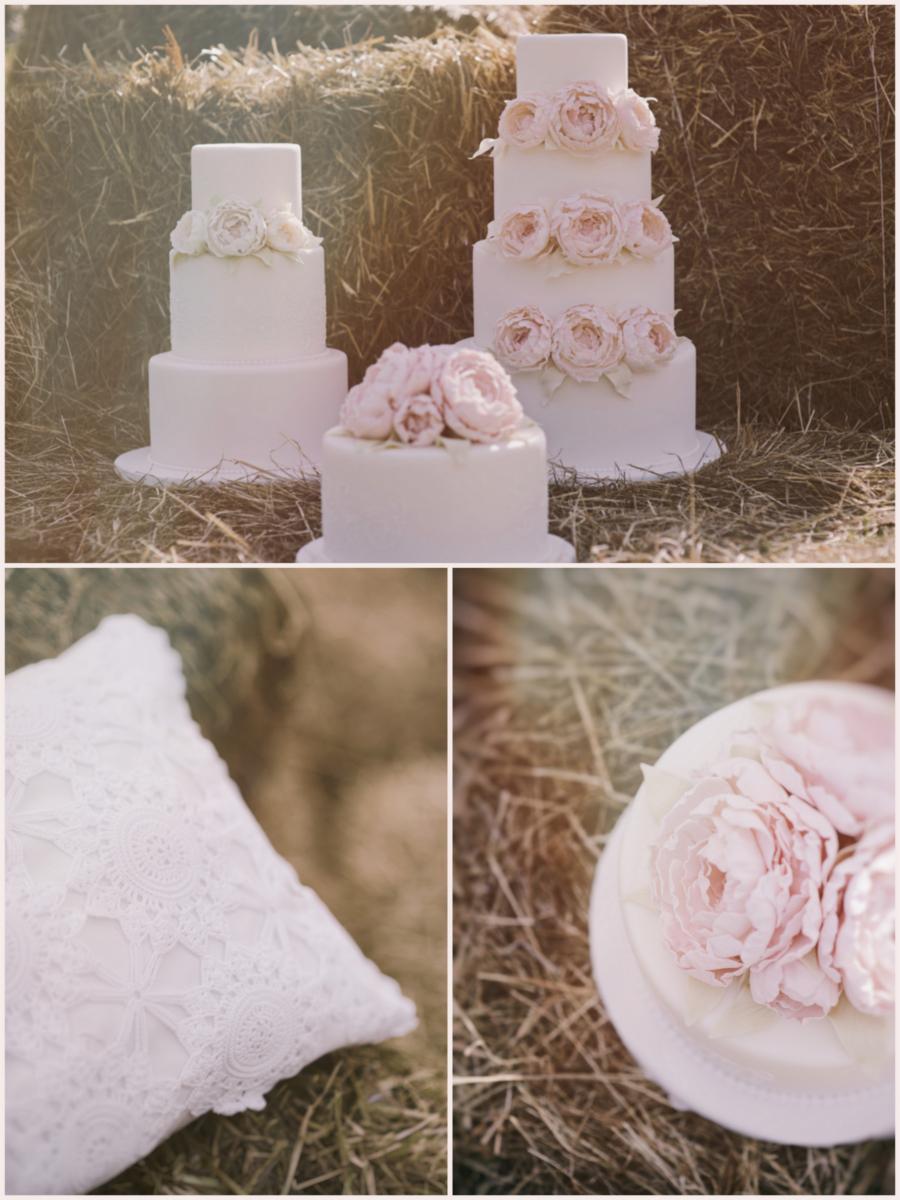 Torty weselne na słomie