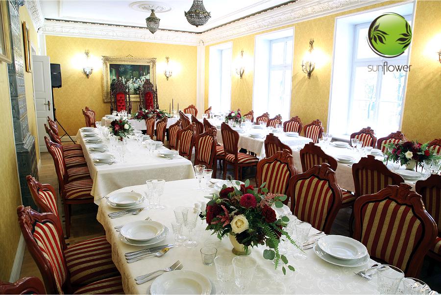 Sala weselna w starym stylu