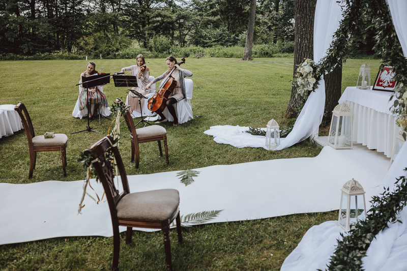 Zespół muzyczny na ślubie