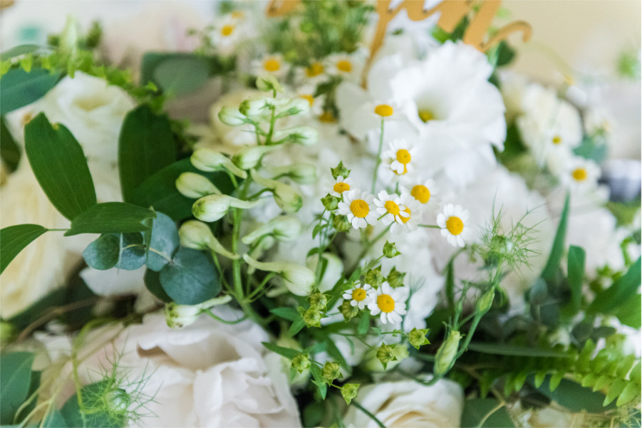 Białe kwiaty