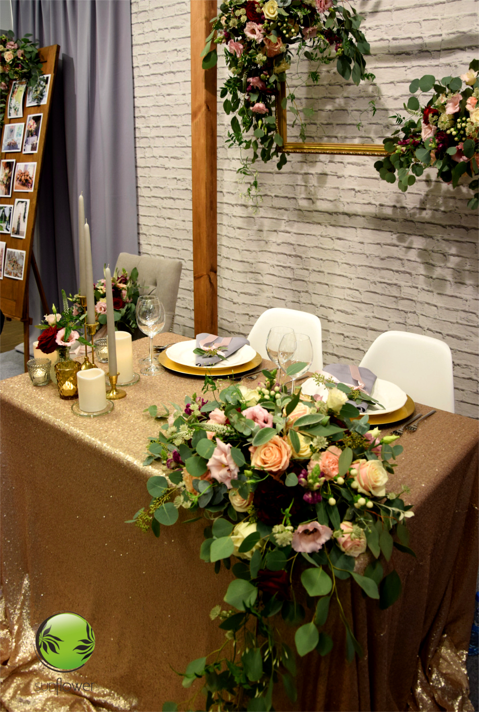 Dekoracje na salę weselną