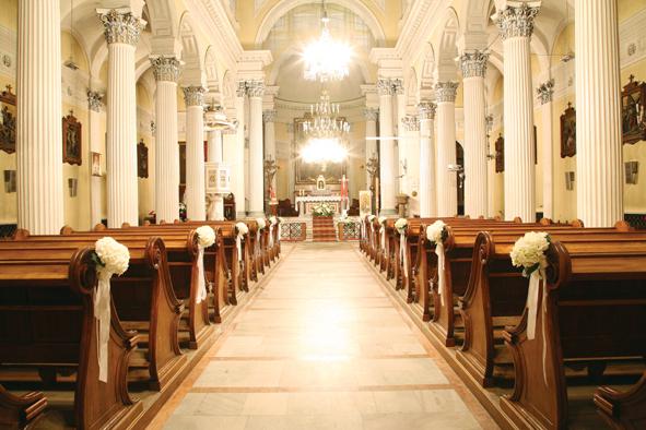 Kościół z kolumnami