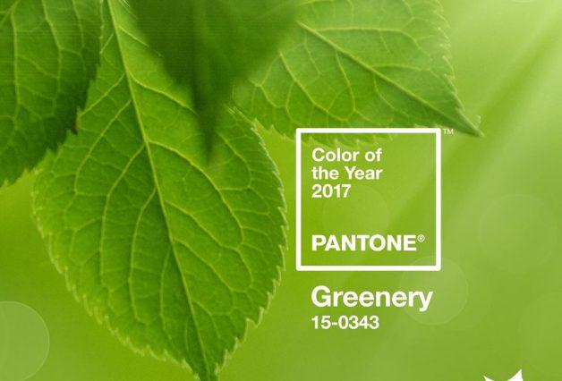 Pantone greenery jako kolor roku